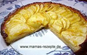 mamas fettarmer apfelkuchen