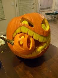 Easy Shark Pumpkin Carving by Cannibal Pumpkin Carving Ideas Photos