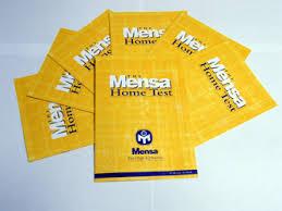 Mensa Home Test