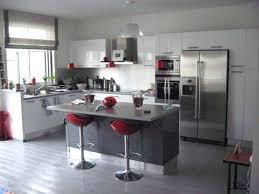 cuisine amercaine deco salon cuisine ouverte cuisine salon en image deco salon cuisine