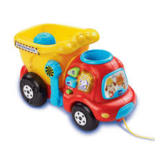 Drop & Go Dump Truck - English Edition - VTech - Toys