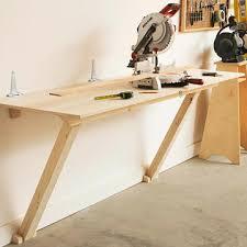 unique folding garage workbench 5 fold flat workbench plans