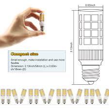 3 pack 3 5w led e12 light bulb torchstar