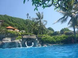 Hilton Bali Resort Pool Big Slide
