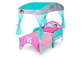 dora toddler canopy bed delta children s products
