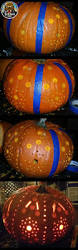 Pumpkin Carving Drill by 5 Things That Happen When You Drill A Pumpkin The Pensive Sloth