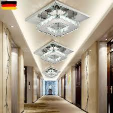 details zu kristall led deckenle wandle flurleuchte schlafzimmer beleuchtung 20cm 12w