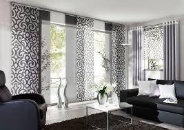 gleitpaneele gardinen wohnzimmer wohnung gestalten