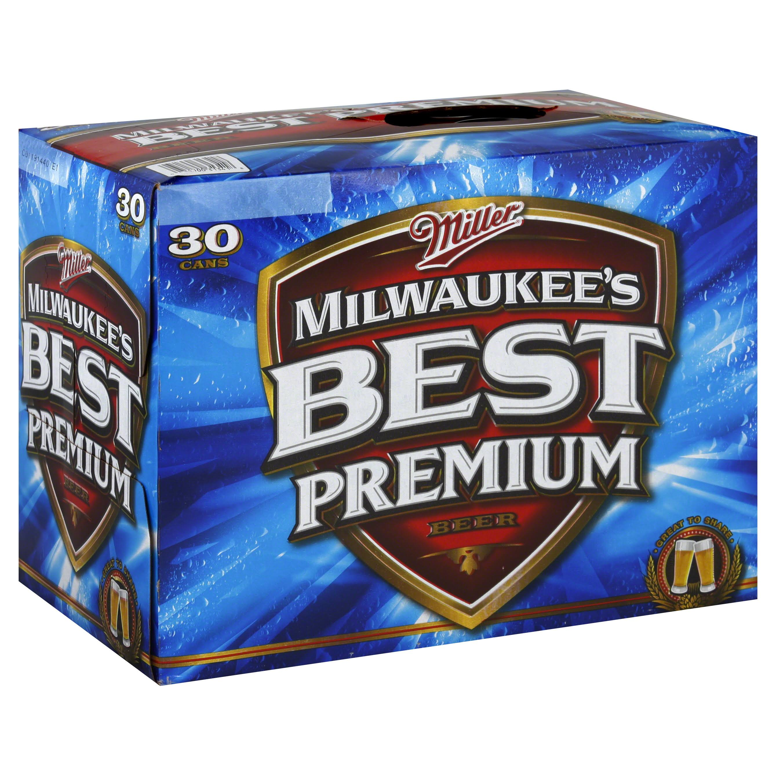Milwaukee's Best Beer - 30 Cans