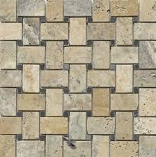 scabos travertine floor tile scabos travertine basketweave black marble tumble dot mosaic tiles