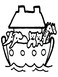 Noah S Ark Coloring Pages For Preschoolers 283