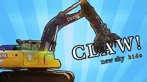 Construction Truck Videos For Children - Excavator Claw Trucks At ... Cstruction Trucks Toys For Children Tractor Dump Excavators Truck Videos Rc Trailer Truckmounted Concrete Pump K53h Cifa Spa Garbage L Crane Flatbed Bulldozer Launches Ferry Excavator Working Tunes 1 Full Video 36 Mins Of Truck Videos For Kids Vehicles Equipment The Kids Picture This Little Adorable Road Worker Rides His Tonka Toy Tow And Toddlers 5018 Bulldozers Vs Scrapers