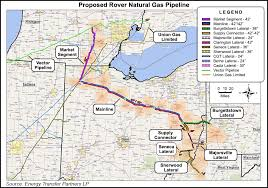 Proposed Rover NatGas Pipeline Map 20150413 1