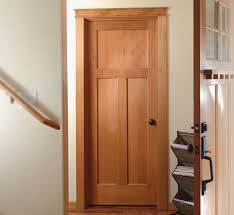 Traditional Craftsman Style Interior Doors