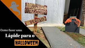 Diy Halloween Tombstones Plywood by Diy Wood Tombstone Halloween Youtube