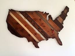 BUY IT American Map Wall Art