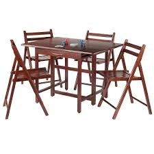 Winsome Taylor 5-Piece Drop Leaf Table Set, 4 Folding Chairs, Walnut (94557) Brand New Extendable Table Moving Wheels 4 Folding Chairs 5 Piece Ding Set Blackwalnut In Manchester Gumtree Magnificent Collapsible Desk Wall Fold Out Chair Lamp Folding Brown Walnut Heath 24 Seat Table Mainstays Walnut 5piece Tv Tray Trays 1 Stand Walmartcom Correll Round 60 Melamine Top Winsome Taylor Drop Leaf 94557 Nest Of Two Tables And Chairs Antiques Side With Glass Fniture Tables Nibe Cain 42 Square Breakroom Mocha Restaurant Stack Black Photo Room Images House Tour