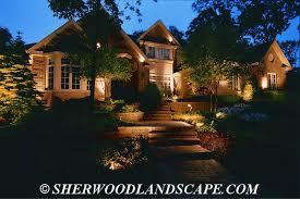 Residential Outdoor Landscape Lighting Michigan Outdoor Lighting