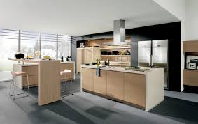 cuisine cuisine bois cuisine americaine design en bois récupérer