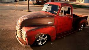 1951 Chevrolet Rat Rod Pickup Has Just The Right Amount Of Street Cred