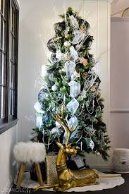 Real Christmas Trees Kmart by Whimsical Winter Eclectic Christmas Home Tour Domicile 37