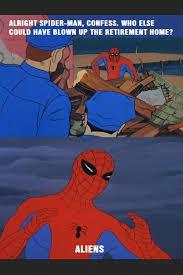 Spiderman Behind Desk Meme by Spiderman Meme