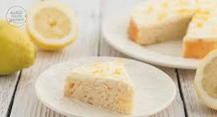 zitronenkuchen ohne zucker und fett backen macht glücklich