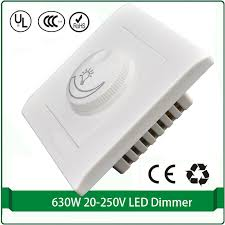silicon controlled rectifier dimmer switch 110v 220v max 630w led