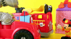 100 Mickey Mouse Fire Truck Clubhouse Save The Day With Minnie