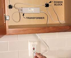 pleasurable kitchen cabinet lighting transformer dazzling