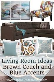 Brown Sectional Living Room Ideas by Brown Sectional Sofa Plus Blue Living Room Inspiration Living