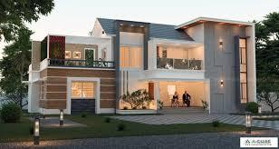 104 Contempory House Kerala Contemporary Designs Home Builders Acube Creators