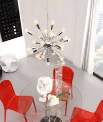 Lighting Modern Dining Room With Round Clear Glass Dining Table And ... Home Source Donna Silver Metal Ding Table Grey Na Fniture Nice Chair Room Qarmazi White And Gray Set Of Eight Vintage Rams Head Angloindian Embossed Chairs Ausgezeichnet Industrial Wood Design Hefner Silver 5 Piece Ding Set 100 To Complete Flash 315 X 63 Rectangular Inoutdoor With 4 Stack Polk In Brushed Rustic Pine Seat 3pcs Black Metal Details About 2pcs Distressed 11922 Indian Hub Cosmo Silver Ding Table Chairs Thepizzaringcom