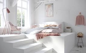 chambre boudoir chambre en bois et blanc pour aménager un cocon de douceur