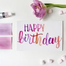 happy birthday — lyndsay wright design