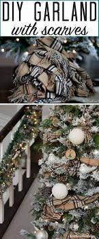 DIY Scarf Garland For Easy Tree Decorating