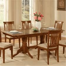 imagio home drop leaf arlington dining table black and java