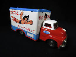 "Astro Boy Mail Truck – Tada – Japan – 8"" L. 