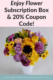 Flower Subscription Box & 20% Coupon Code! - My Gateway To ... 12 Best Florists In Singapore With The Prettiest Fresh Enjoy Flowers Review Coupon Code September 2018 Whosale Flowers And Supplies San Diego Coupon Code Fryouflowerscom Valentines Day 15 Off Fall Winter Flower Walls The Wall Company 1800flowerscom Black Friday Sale Free Shipping 16 Farmgirl Flowers Discount Code Off Cactus Promo Ladybug Florist Cc Pizza Coupons Discount Teleflorist Wet Seal Discount 22 1800 Coupons Codes Deals 2019 Groupon Unique Free Delivery Beautiful Fruit Of Bloom