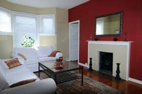 Red Walls In Living Room Accent Wall Kitchen Exercise Your Creativity With These Creative
