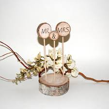 Ideas Collection Rustic Wedding Cake Toppers For Your Topper Aspen Decoration Mr