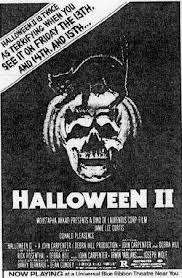 Halloween Ii 1981 Cast the horrors of halloween halloween ii 1981 newspaper ads vhs