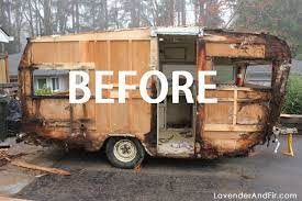 104 Restored Travel Trailers How To Restore A Vintage Trailer Tin Can Tourists