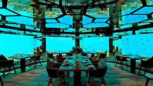 100 Kihavah Villas Maldives SEA Worlds Leading Underwater Hotel Restaurant