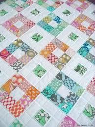 Nine Patch Baby Quilt Tutorial Nine Patch Quilt Blocks