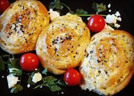 pikante käse schnecken