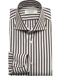 napoli dress shirt 37 brown men u0027s kamakura shirts