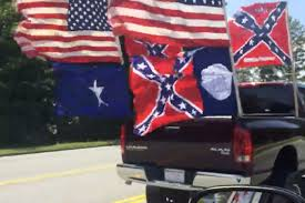 100 Confederate Flag Truck Terror Charges For Toting Group Respect The