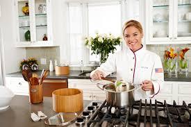 Quickfire Cooking Challenge with Cat Cora