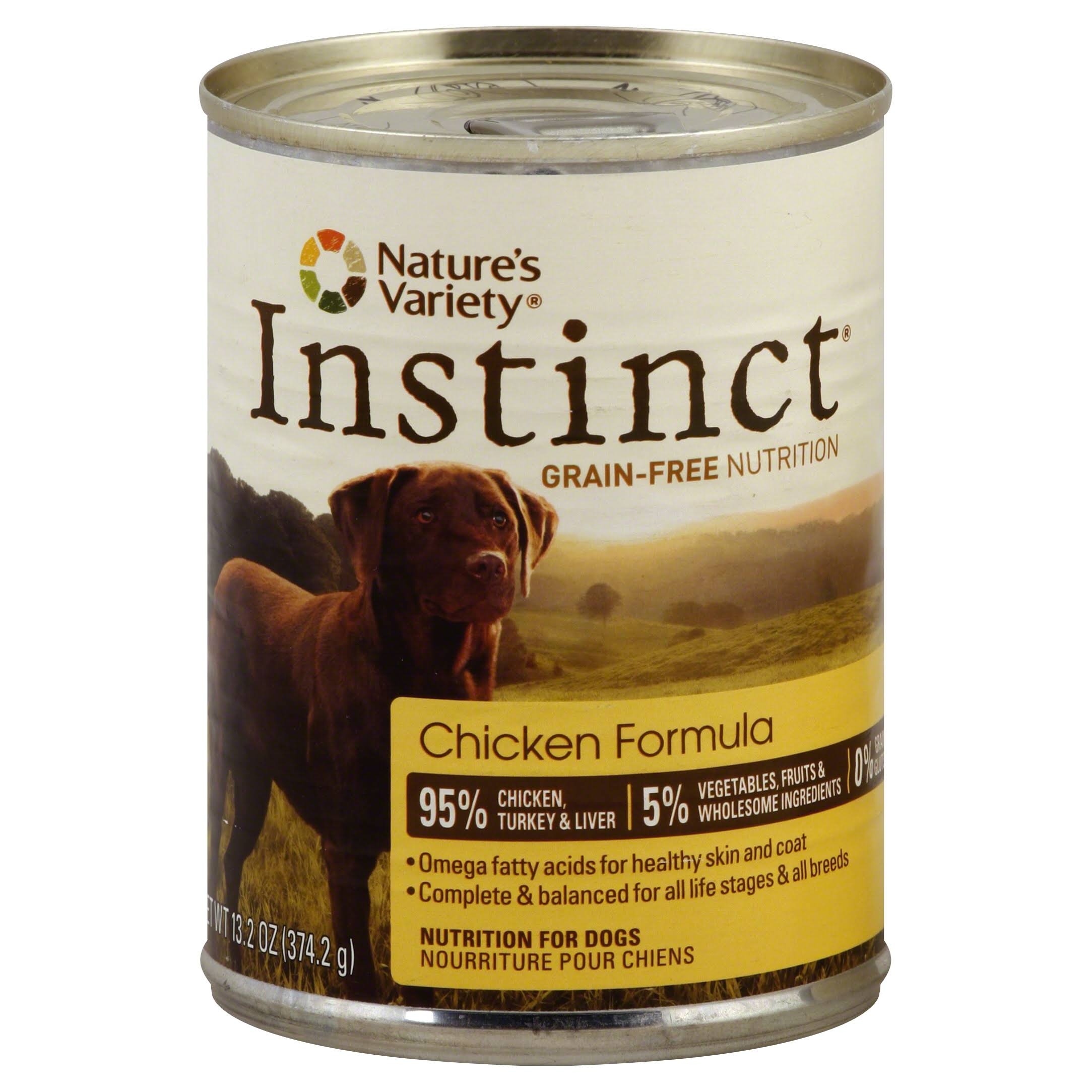 Nature's Variety Instinct Canned Dog Food – Chicken